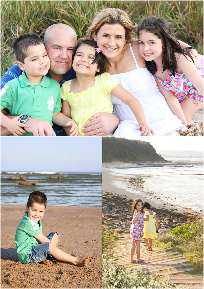 family photography, long reef, beach, sydney