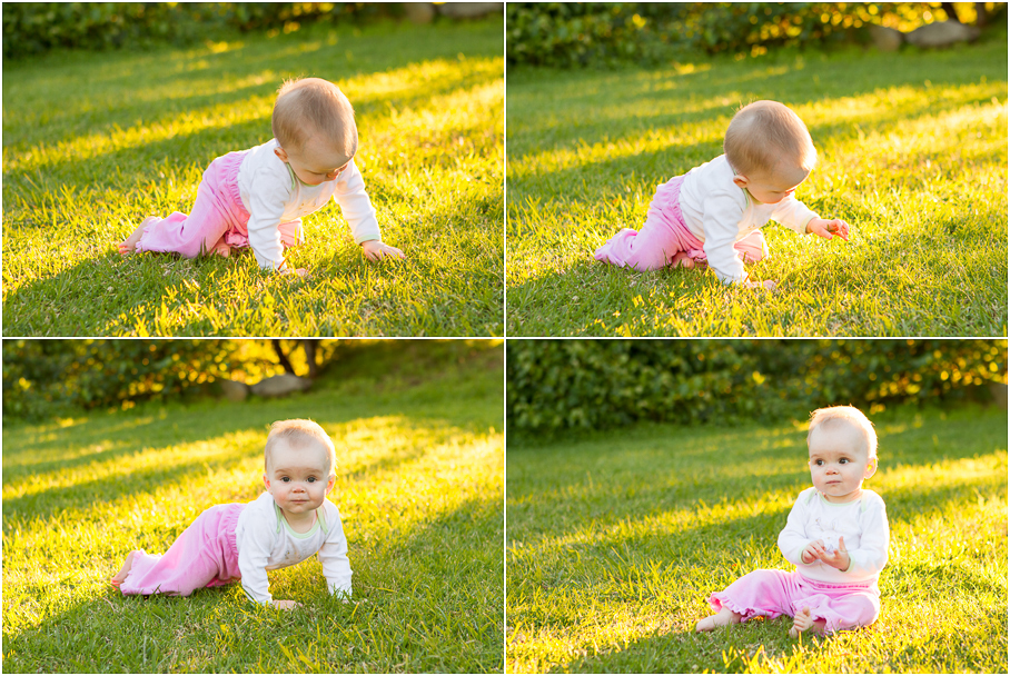 Letter to my daughter, crawling